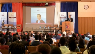 "Ban Ki-moon: ""Social and economic development can only be led by the private sector"""