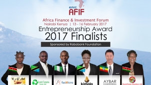 AFIF Award Finalists 2017  |  Nairobi Kenya   |  13 - 16 February 2017